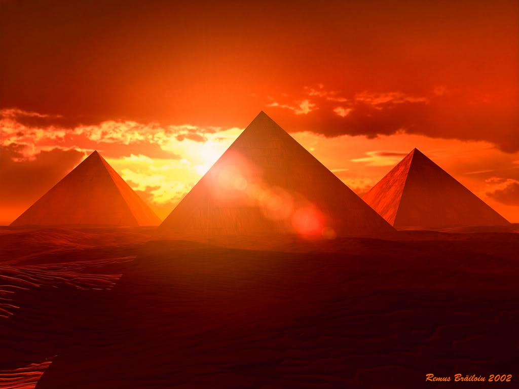 The Great Giza Pyramids 3